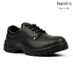 BA-410 black Zapatos de Trabajo Mayoreo Wholesale Work Shoes Nantlis