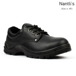 BA-410 black Zapatos de Trabajo Mayoreo Wholesale Work Shoes Nantlis