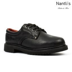 BA-415 black Zapatos de Trabajo Mayoreo Wholesale Work Shoes Nantlis