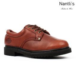 BA-415 brown Zapatos de Trabajo Mayoreo Wholesale Work Shoes Nantlis