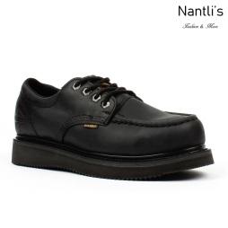 BA-422 black Zapatos de Trabajo Mayoreo Wholesale Work Shoes Nantlis