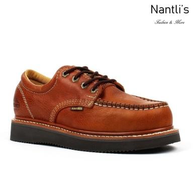 BA-422 light-brown Zapatos de Trabajo Mayoreo Wholesale Work Shoes Nantlis