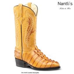 BA51105 Crocodile butter Botas Vaqueras Western Boots Nantlis
