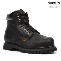 BA-610 black Botas de Trabajo Mayoreo Wholesale Work Boots Nantlis