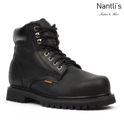 BA-610 black Botas de Trabajo Mayoreo Wholesale Work Boots Nantlis