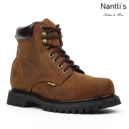 BA-610 brown Botas de Trabajo Mayoreo Wholesale Work Boots Nantlis