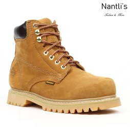 BA-610 tan Botas de Trabajo Mayoreo Wholesale Work Boots Nantlis