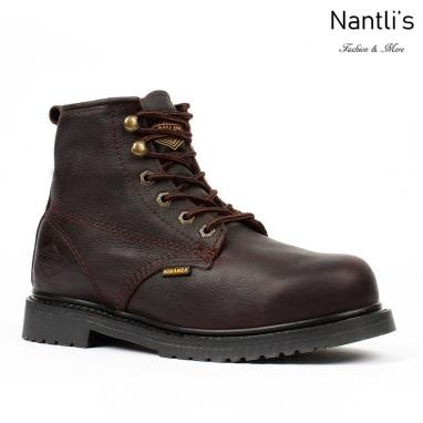 BA-615 brown Botas de Trabajo Mayoreo Wholesale Work Boots Nantlis