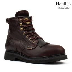 BA-617 brown Botas de Trabajo Mayoreo Wholesale Work Boots Nantlis