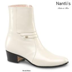 BA622 Cabra Hueso Botines Charros Equestrian Paddock Boots Nantlis