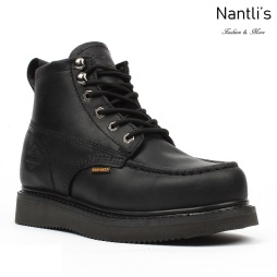 BA-630 black Botas de Trabajo Mayoreo Wholesale Work Boots Nantlis
