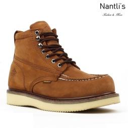 BA-630 brown Botas de Trabajo Mayoreo Wholesale Work Boots Nantlis