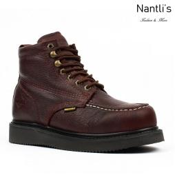 BA-630 dark brown Botas de Trabajo Mayoreo Wholesale Work Boots Nantlis