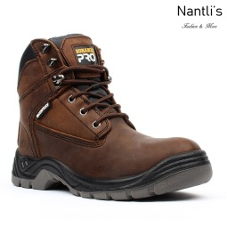 BA-760 dark brown Botas de Trabajo Mayoreo Wholesale Work Boots Nantlis