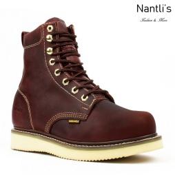 BA-830 burgundy Botas de Trabajo Mayoreo Wholesale Work Boots Nantlis