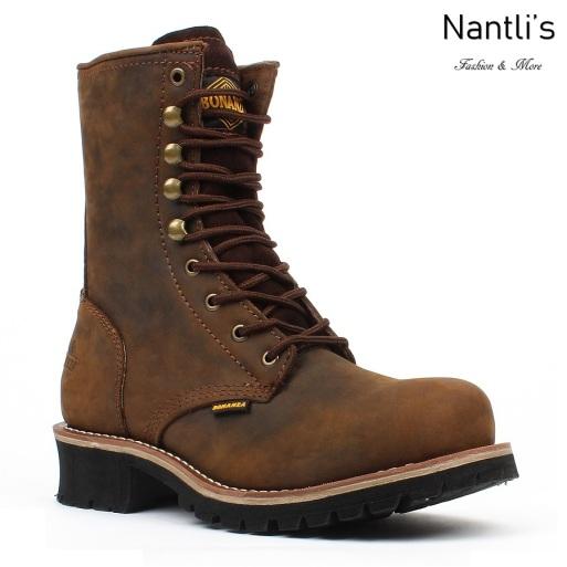 BA-901 brown Botas de Trabajo Mayoreo Wholesale Work Boots Nantlis