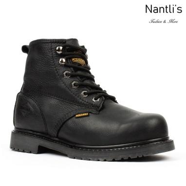 BAT-615 black Botas de Trabajo Mayoreo Wholesale Work Boots Nantlis