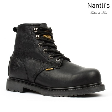 BAT-615 black Botas de Trabajo Mayoreo Wholesale Work Boots Nantlis