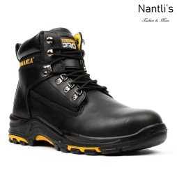 BAT-618 black Botas de Trabajo Mayoreo Wholesale Work Boots Nantlis