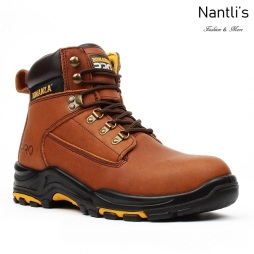 BAT-618 brown Botas de Trabajo Mayoreo Wholesale Work Boots Nantlis