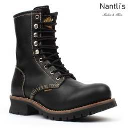 BAT-901 black Botas de Trabajo Mayoreo Wholesale Work Boots Nantlis