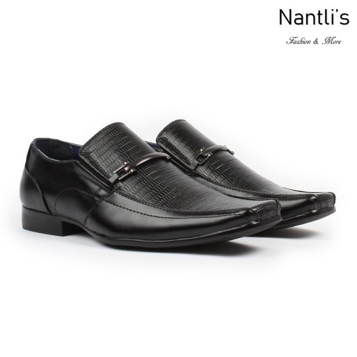 BE-A121 black Zapatos por Mayoreo Wholesale Mens shoes Nantlis Bonafini Shoes