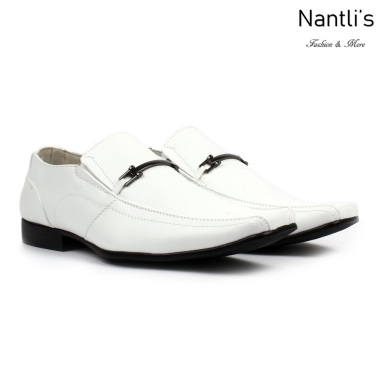 BE-A121 white Zapatos por Mayoreo Wholesale Mens shoes Nantlis Bonafini Shoes