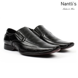 BE-A125 Black Zapatos por Mayoreo Wholesale Mens shoes Nantlis Bonafini Shoes
