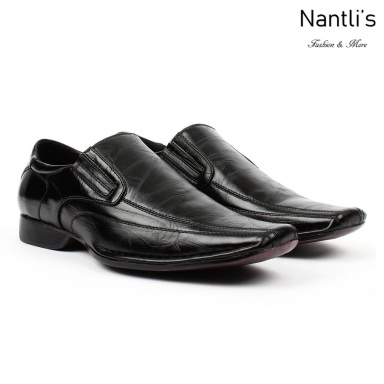 BE-A125 Black Zapatos por Mayoreo Wholesale Mens shoes Nantlis Bonafini Shoes