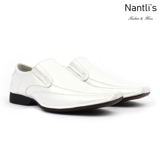 BE-A125 White Zapatos por Mayoreo Wholesale Mens shoes Nantlis Bonafini Shoes