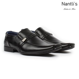 BE-A126 Black Zapatos por Mayoreo Wholesale Mens shoes Nantlis Bonafini Shoes