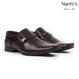 BE-A126 Dark Brown Zapatos por Mayoreo Wholesale Mens shoes Nantlis Bonafini Shoes