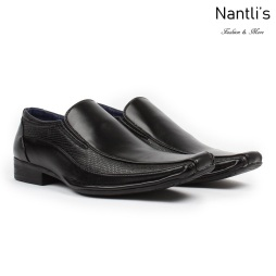 BE-A131 Black Zapatos por Mayoreo Wholesale Mens shoes Nantlis Bonafini Shoes