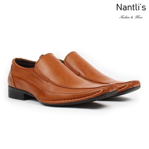 BE-A131 Brown Zapatos por Mayoreo Wholesale Mens shoes Nantlis Bonafini Shoes