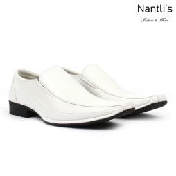 BE-A131 white Zapatos por Mayoreo Wholesale Mens shoes Nantlis Bonafini Shoes