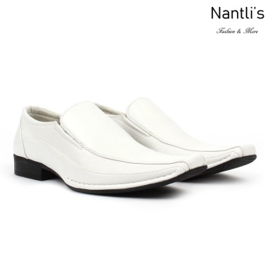 BE-A131 white Zapatos por Mayoreo Wholesale Mens shoes Nantlis Bonafini Shoes