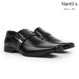 BE-A160 Black Zapatos por Mayoreo Wholesale Mens shoes Nantlis Bonafini Shoes