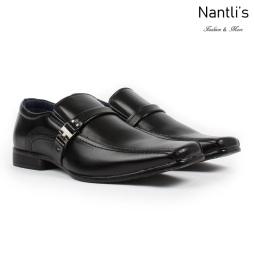 BE-A160 Black Zapatos por Mayoreo Wholesale Mens shoes Nantlis Bonafini Shoes