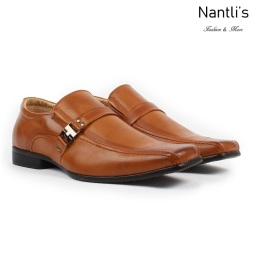 BE-A160 Tan Zapatos por Mayoreo Wholesale Mens shoes Nantlis Bonafini Shoes