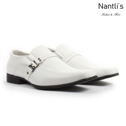 BE-A160 White Zapatos por Mayoreo Wholesale Mens shoes Nantlis Bonafini Shoes