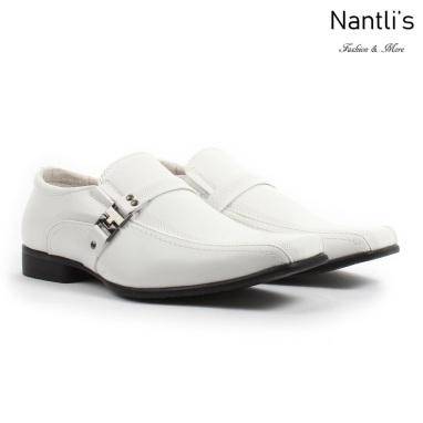 BE-A160 White Zapatos por Mayoreo Wholesale Mens shoes Nantlis Bonafini Shoes