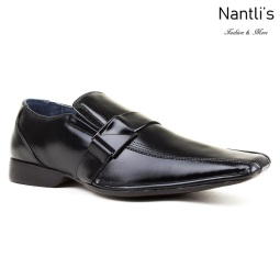BE-A187 Black Zapatos por Mayoreo Wholesale Mens shoes Nantlis Bonafini Shoes