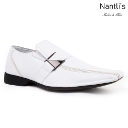 BE-A187 White Zapatos por Mayoreo Wholesale Mens shoes Nantlis Bonafini Shoes