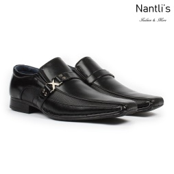 BE-A188 Black Zapatos por Mayoreo Wholesale Mens shoes Nantlis Bonafini Shoes