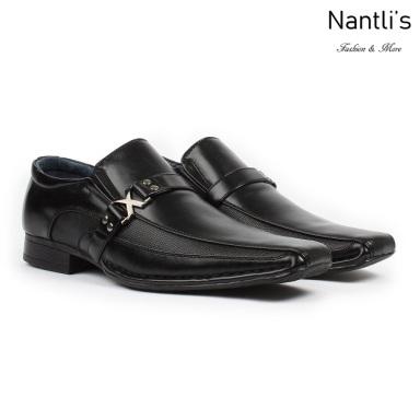 BE-A188 Black Zapatos por Mayoreo Wholesale Mens shoes Nantlis Bonafini Shoes