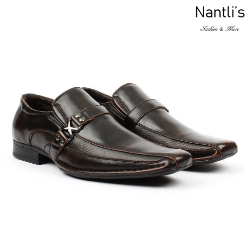 BE-A188 Brown Zapatos por Mayoreo Wholesale Mens shoes Nantlis Bonafini Shoes