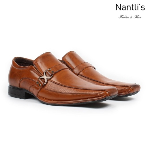 BE-A188 Tan Zapatos por Mayoreo Wholesale Mens shoes Nantlis Bonafini Shoes