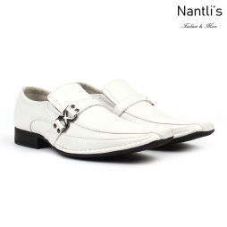BE-A188 White Zapatos por Mayoreo Wholesale Mens shoes Nantlis Bonafini Shoes