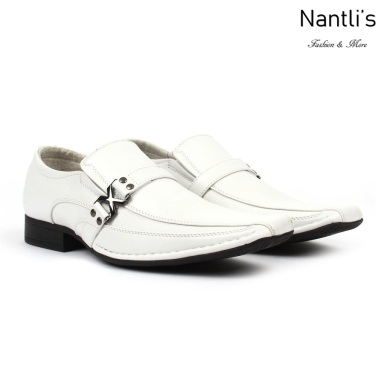 BE-A188 White Zapatos por Mayoreo Wholesale Mens shoes Nantlis Bonafini Shoes