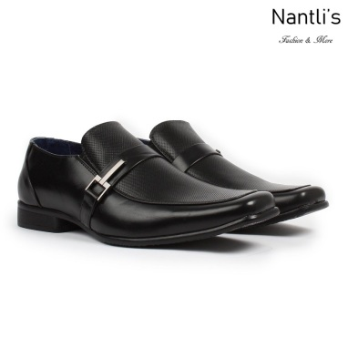 BE-A191 black Zapatos por Mayoreo Wholesale Mens shoes Nantlis Bonafini Shoes